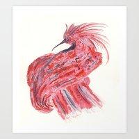 phoenix Art Prints featuring phoenix by echoes