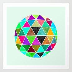Geodesic 2 Art Print