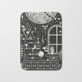 Moon Altar Bath Mat