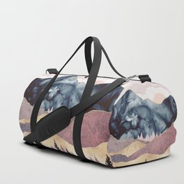Mauve Vista Duffle Bag