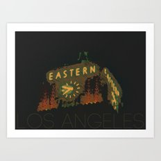 Eastern Columbia Building Los Angeles, California Art Print
