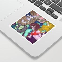 DD Girls Sticker