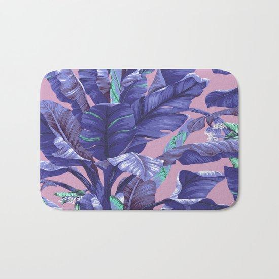 Banana Leaf love Bath Mat