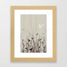 Songs at Dusk Framed Art Print