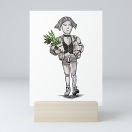 mathilda professional Mini Art Print