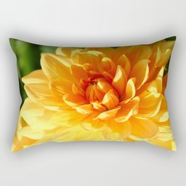 Dahlia Macro Rectangular Pillow