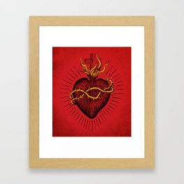 Bleeding Heart Framed Art Print