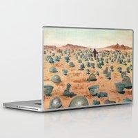 battlefield Laptop & iPad Skins featuring The Battlefield. by Jera Sky