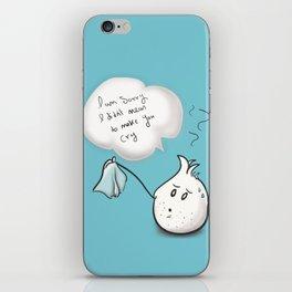 i am sorry - onion  iPhone Skin