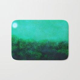 """""""The Garden"""" Digital Painting // Fine Art Print Bath Mat"""