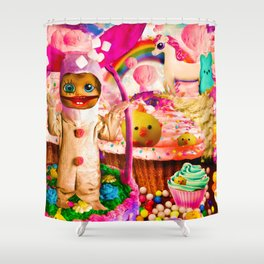 Legend of Kid Bunny Shower Curtain
