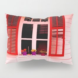 From my red window. Pillow Sham