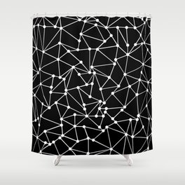 Ab Out Black Spots Shower Curtain