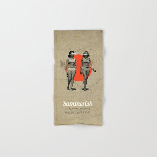 Summerish Hand & Bath Towel