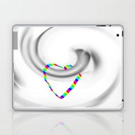 Hook heart Laptop & iPad Skin