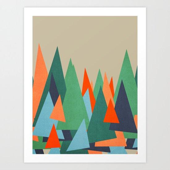 Abstract/G. Art Print