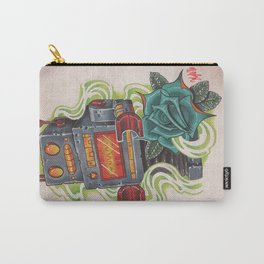 Retro Robot Carry-All Pouch