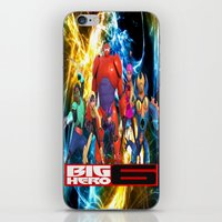 big hero 6 iPhone & iPod Skins featuring Big Hero 6 by ezmaya