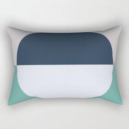 Just Make It Work Scandinavian Design Rectangular Pillow