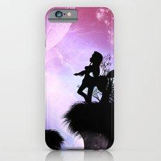 Cute centaurs silhouette iPhone 6s Slim Case
