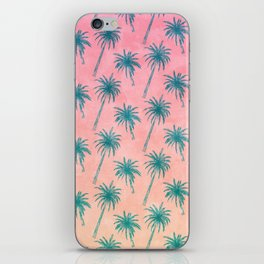 Palm Tree Pattern iPhone Skin