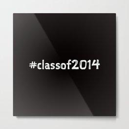 2014 Grads Metal Print