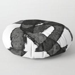 New Black Floor Pillow