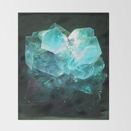 My Magic Crystal Story Throw Blanket