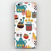 kitchen iPhone & iPod Skins featuring Kitchen by Kathrin Legg