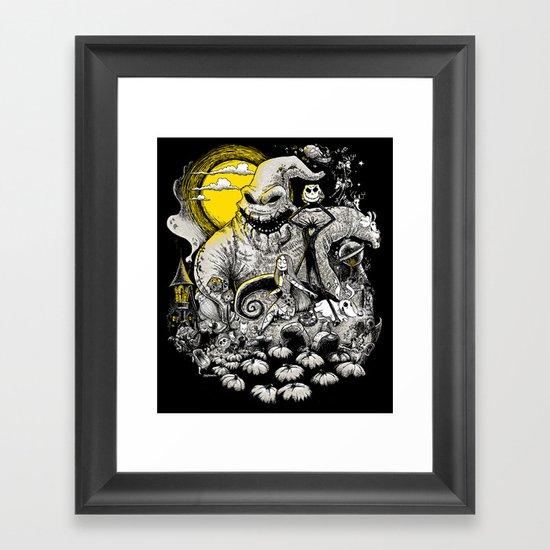 Nightmare! Framed Art Print