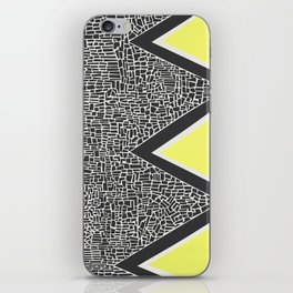 Abstract Mountain Range iPhone Skin