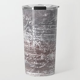 Gray nebulous wash drawing Travel Mug