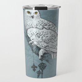 Secrets of the Snowy Owl Travel Mug