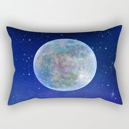 Flower Moon Rectangular Pillow