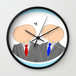 Talking Out Of Our Ass Wall Clock