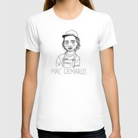 mac T-shirts featuring Mac DeMarco by ☿ cactei ☿