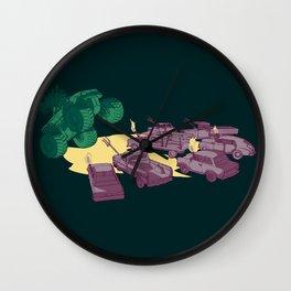 Cornered Wall Clock