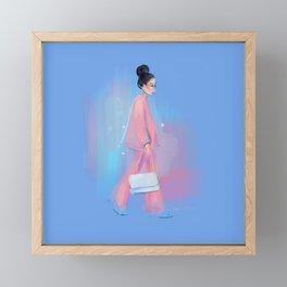 Fashion Sketch no 6 Framed Mini Art Print