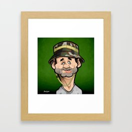Carl Framed Art Print