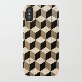 Isomorphic Cubes iPhone Case