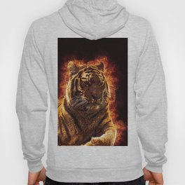 Burning Tiger Hoody