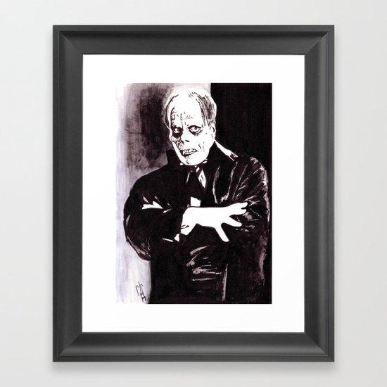 The Phantom Framed Art Print