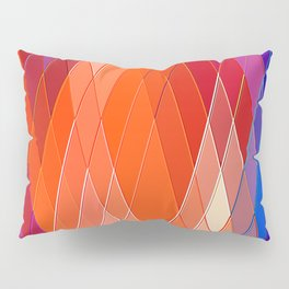 Re-Created Vertices No. 18 by Robert S. Lee Pillow Sham