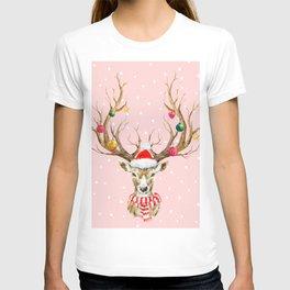 Christmas Deer 3 T-shirt