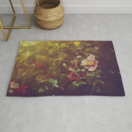 Textured Anemone (Cool Colors) Rug