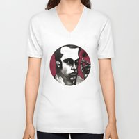 nick cave V-neck T-shirts featuring Nick Cave by Rafols