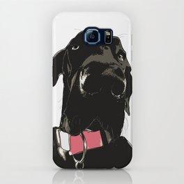 Black Great Dane Dog iPhone Case