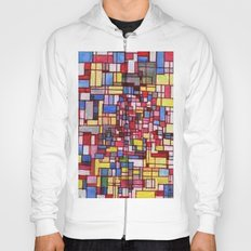 COMPOSITION IN RED Hoody