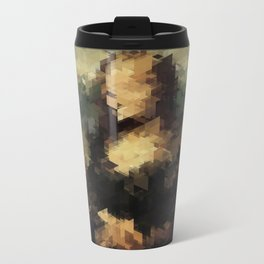 Panelscape Iconic - Mona Lisa Metal Travel Mug