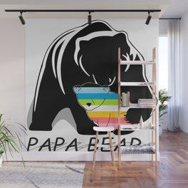 Papa Bear Queer Wall Mural